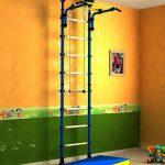 Klettergerüst Indoor Klettergerst Fr Sprossenwand Turnwand Garten Wohnzimmer Klettergerüst Indoor