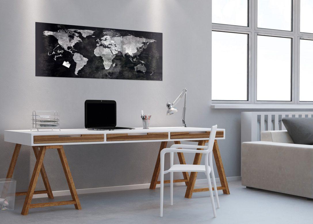 Large Size of Pinnwand Modern Sigel Glas Magnet Board Gl246 130x55 Magnettafel Tafel Esstisch Moderne Esstische Bett Design Küche Holz Deckenleuchte Wohnzimmer Deckenlampen Wohnzimmer Pinnwand Modern
