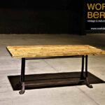 Industrial Tisch Style Tische Auf Alten Esstisch Sofa Massiv Skandinavisch Shabby Chic Weißer Mit 4 Stühlen Günstig Quadratisch Rustikal Esstische Set Holz Esstische Esstisch Industrial