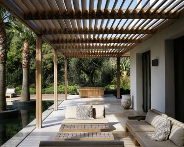 Pergola Modern Wohnzimmer Pergola Prefab Kits Contemporary Design Ideas Moderna Madera Modern Uk Architecture Australia Holz Kaufen Metal Designs Attached To House Tapete Küche Bett