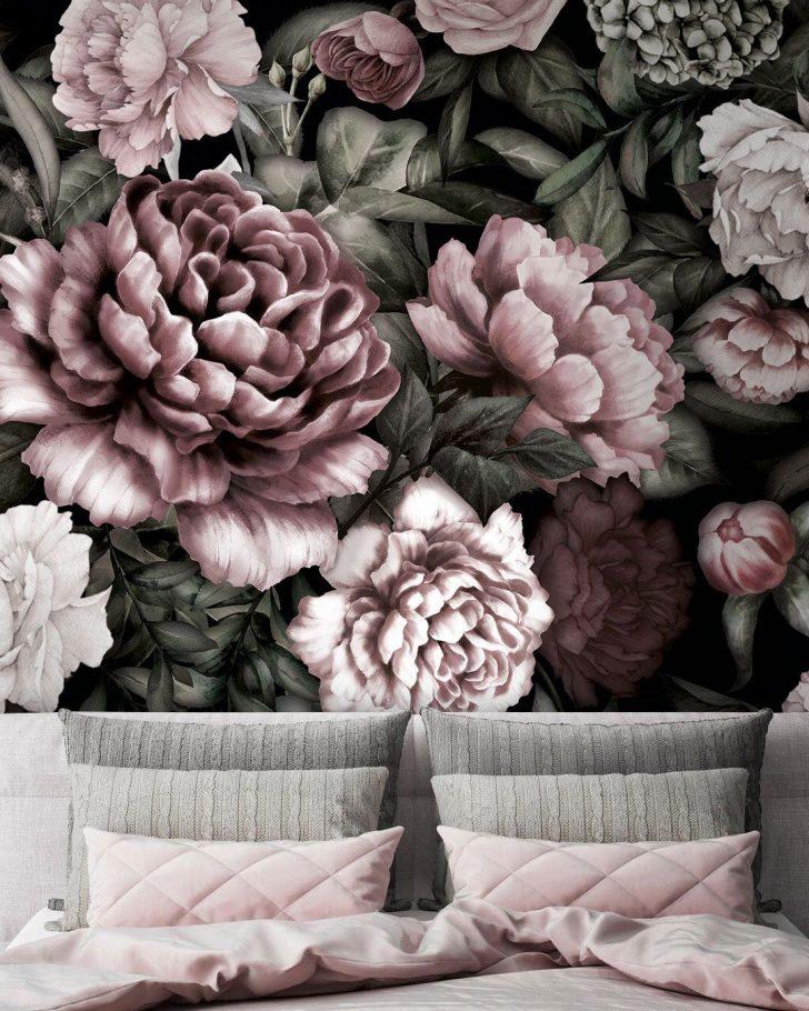 Medium Size of Fototapete Blumen Schlafzimmer Blumenwiese Weiss Vintage Rosa Vlies Dunkel Fototapeten 3d Aquarell Tapete Rose Bltter Flche Muster Fenster Küche Wohnzimmer Wohnzimmer Fototapete Blumen