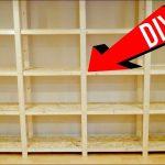 Holzregal Selber Bauen Gnstiges Perfekt Werkstatt Youtube Fenster Einbauen Kosten Bett 180x200 Boxspring Einbauküche Kopfteil Bodengleiche Dusche 140x200 Wohnzimmer Holzregal Selber Bauen