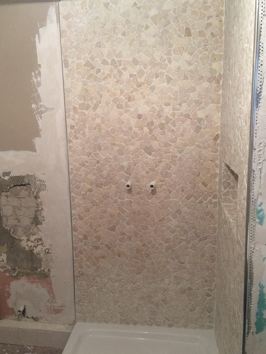 Full Size of Badezimmer Dusche Mosaik Fliesen Malermeister Painter Pintor Begehbare Ohne Tür Sprüche Für Die Küche Badewanne Kopfteil Bett Einhebelmischer Bluetooth Dusche Fliesen Für Dusche