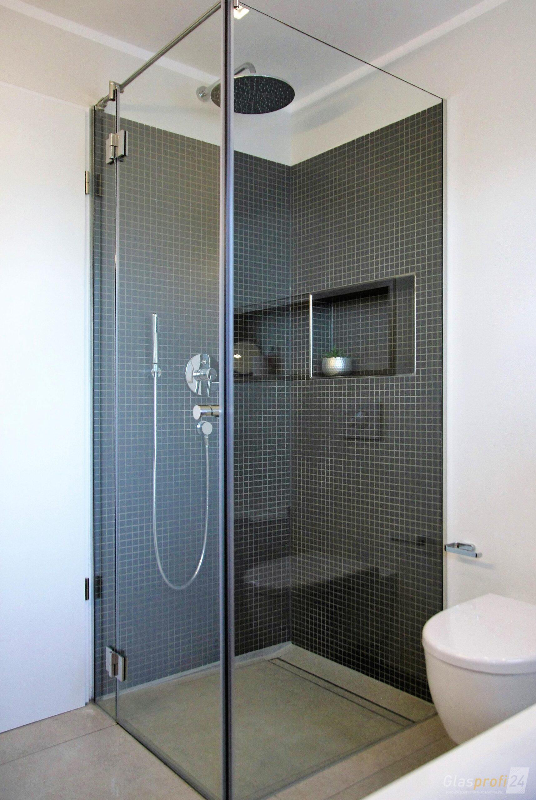Full Size of Glasabtrennung Dusche Eckdusche Glaseckdusche Glasprofi24 Fliesen Behindertengerechte Nischentür 80x80 Für Ebenerdige Kosten Moderne Duschen Badewanne Dusche Glasabtrennung Dusche