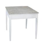 Kleiner Esstisch Tisch Harbour Wei Braun Im Hamptons Chic Long Island Massivholz Ausziehbar Pendelleuchte Oval Weiß Sheesham Rustikal Holz Esstische Rund Glas Esstische Kleiner Esstisch