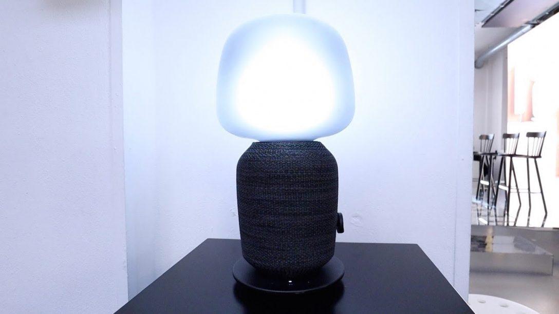 Large Size of Ikea Und Sonos Stellen Symfonisk Lautsprecher Lampe Vor Youtube Bad Lampen Led Badezimmer Betten Bei Küche Kosten Stehlampen Wohnzimmer Deckenlampen Modern Wohnzimmer Ikea Lampen