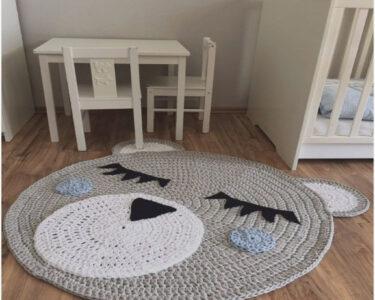 Kinderzimmer Teppiche Kinderzimmer Kinderzimmer Teppiche Teppich Grau Rund Traumhaus Regal Sofa Weiß Wohnzimmer Regale