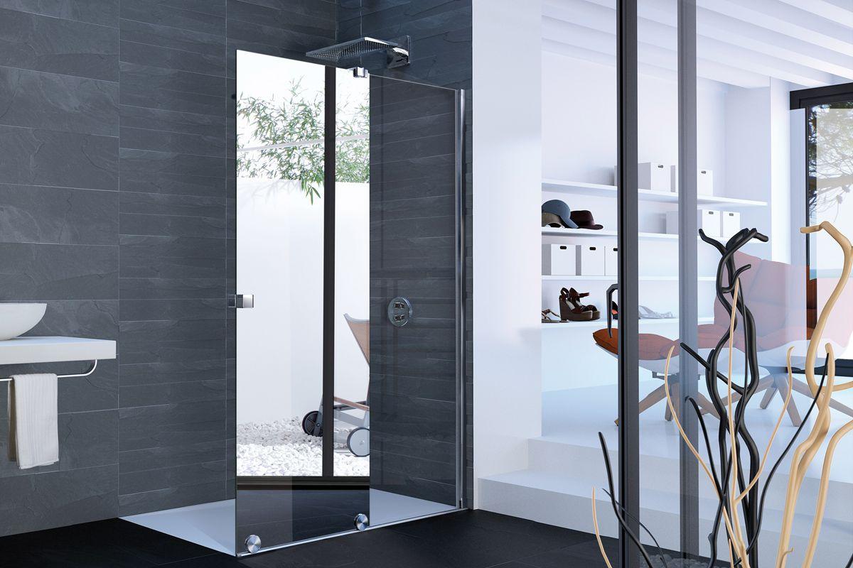 Full Size of Hüppe Dusche Hppe Praktisches Tandem Duschabtrennung Plus Spiegel Bodengleiche Duschen Einbauen Grohe Badewanne Mit Glasabtrennung Glastrennwand Bluetooth Dusche Hüppe Dusche