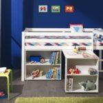 Funktionsbett Pino Hochbett Mit Schreibtisch Regal Leiter Kinderzimmer Weiß Sofa Regale Kinderzimmer Hochbett Kinderzimmer