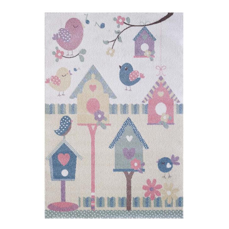Medium Size of Kinderzimmer Teppiche Teppich Vogelhaus Lulu Kids 4601 Multi Flachflor Regal Wohnzimmer Sofa Weiß Regale Kinderzimmer Kinderzimmer Teppiche