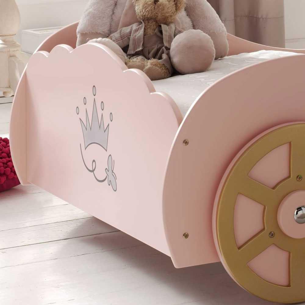 Full Size of Mdchen Kinderbett Valentine In Rosa Wohnende Bett Mädchen Betten Wohnzimmer Kinderbett Mädchen