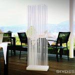Paravent Balkon Wohnzimmer Terrasse Sichtschutz Balkon Und Garten Paravent Wasserfeste