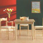Stühle Esstisch Set Bambari A21 Inkl 3 Sthle Buche Beige 80 140 Ausziehbarer Sofa Rund 80x80 Eiche Sägerau Shabby Chic Oval Weiß Pendelleuchte Skandinavisch Esstische Stühle Esstisch