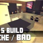 Minecraft Küche Mbel Tutorial Moderne Kche Bad 4 Haus Nr 10 Mini Mit Tresen Fototapete Beistelltisch Modulküche Holz Beistellregal Singelküche Anthrazit Wohnzimmer Minecraft Küche