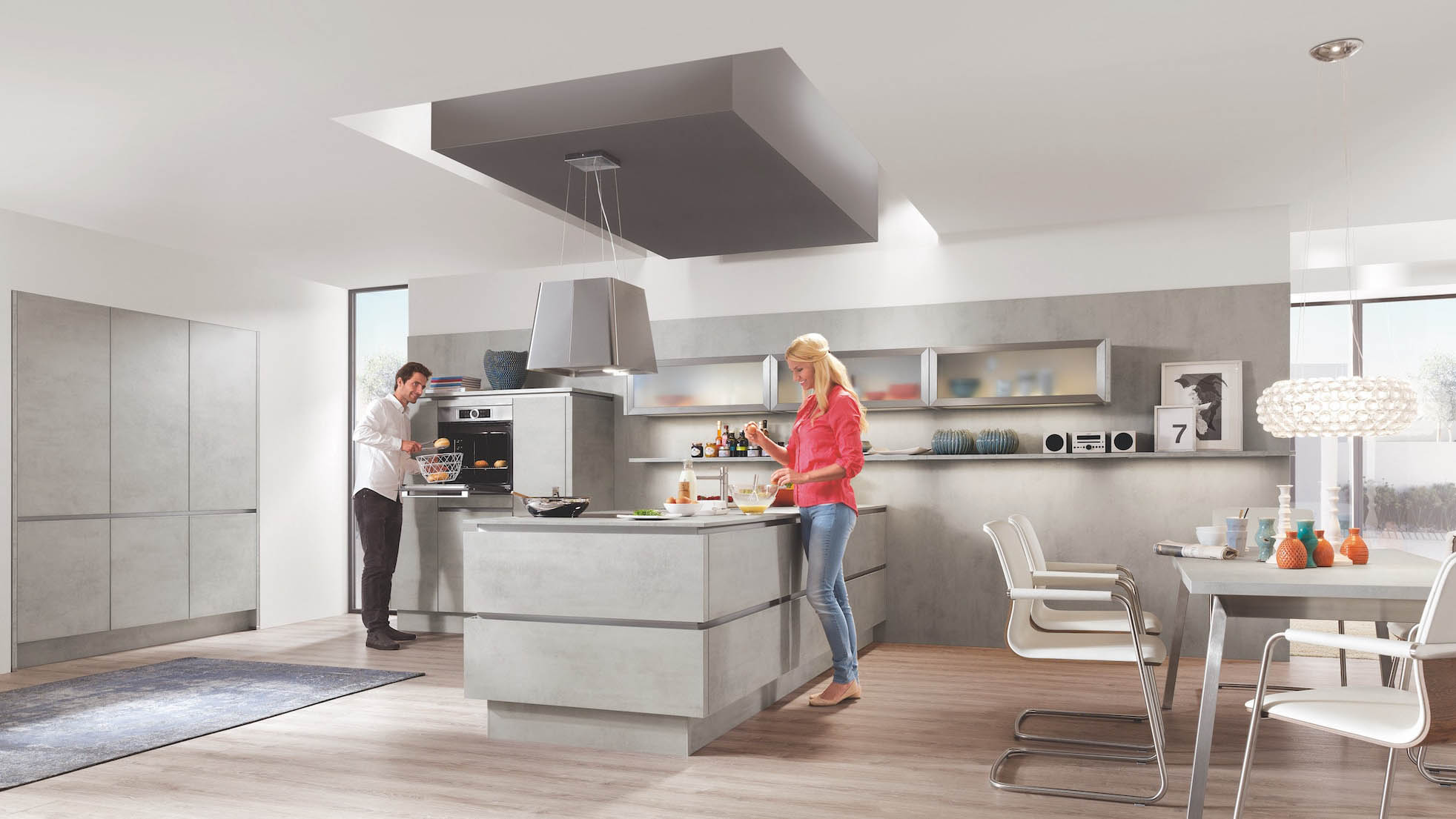 Full Size of Kcheninsel Moderne Traumkche Individuell Wohnzimmer Kücheninsel