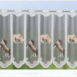 Scheibengardine Kinderzimmer Meterware Eule Ikea Tiere Bonprix Lila Sterne Schmetterling Elefant Pferd Und Fohlen Bxh 150x60cm Clever Kauf 24de Sofa Regal Kinderzimmer Scheibengardine Kinderzimmer