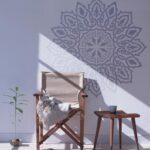Arabisch Mandala Wandschablone Dekorative Wandshablone Fr Etsy Regal Kinderzimmer Weiß Regale Sofa Kinderzimmer Wandschablonen Kinderzimmer