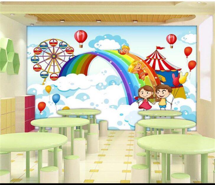 Medium Size of Wandbild 3d Tapete Foto Nach Gre Cartoon Regale Regal Wohnzimmer Weiß Sofa Schlafzimmer Kinderzimmer Wandbild Kinderzimmer