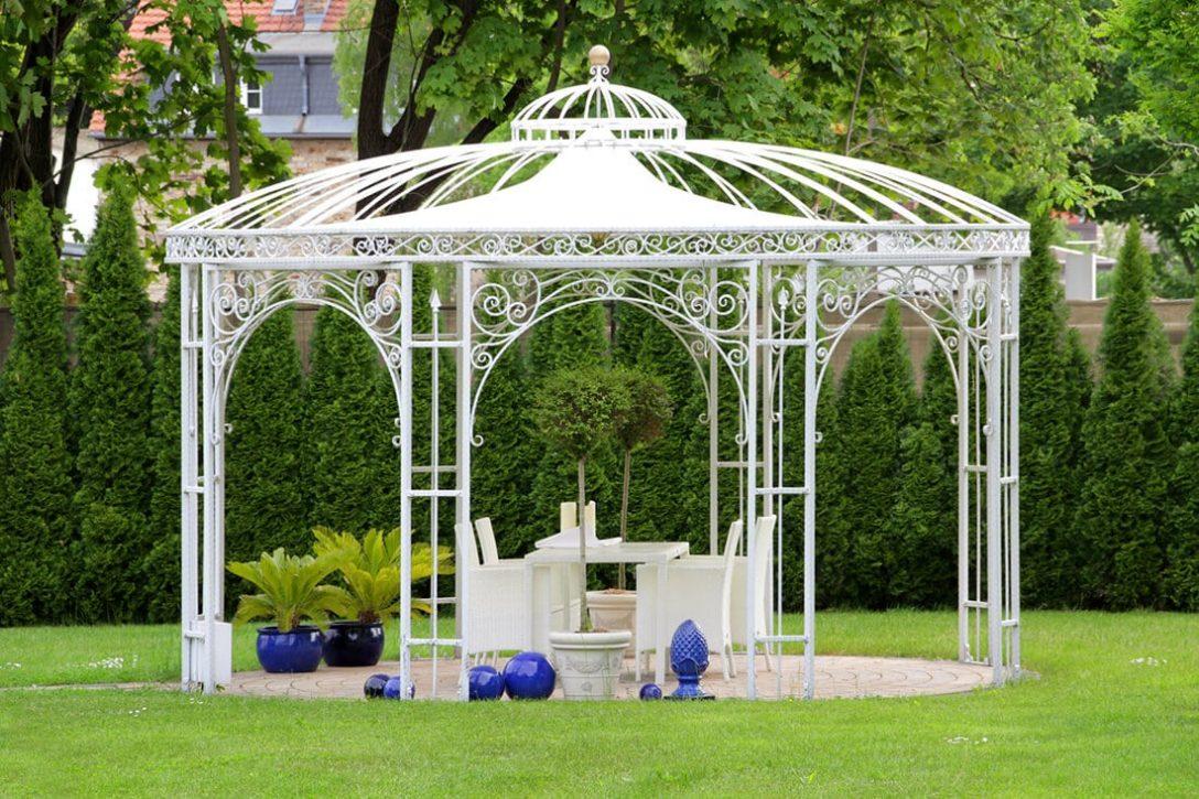 Large Size of Gartenpavillon Metall Pavillon Mit Festem Dach Rund 3 X 5 Klein Aus Holz Bett Regal Weiß Regale Wohnzimmer Gartenpavillon Metall