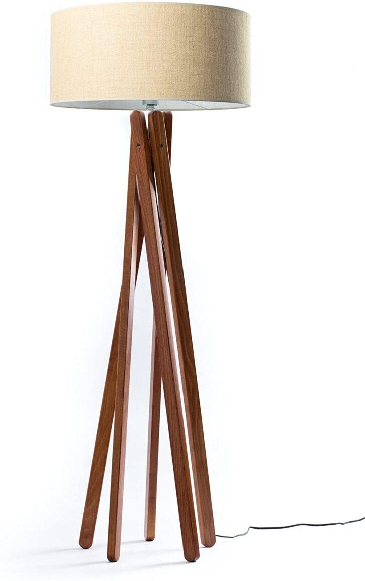 Medium Size of Stehlampe Modern Hochwertige Holz Stativ In Nussbaumfarben Küche Moderne Esstische Stehlampen Wohnzimmer Bilder Deckenleuchte Deckenlampen Landhausküche Wohnzimmer Stehlampe Modern