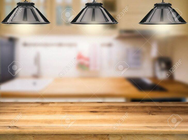 Medium Size of Holztheke Mit 3d Hngelampen Kche Hintergrund Wohnzimmer Hängelampen