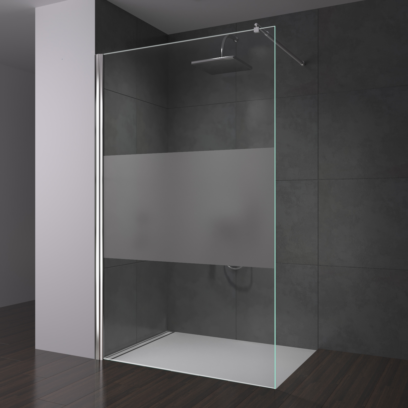 Full Size of Glaswand Dusche Duschwand Glas Trennwand Duschabtrennung Fr Begehbare 80x80 Moderne Duschen Bodengleiche Einbauen Schulte Werksverkauf Mischbatterie Sprinz Dusche Glaswand Dusche