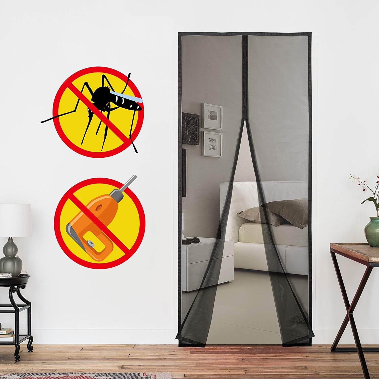 Full Size of Fliegengitter Magnet Magnetvorhang 220x100cm Der Perfekte Schutz Gegen Insekten Fenster Magnettafel Küche Maßanfertigung Für Wohnzimmer Fliegengitter Magnet