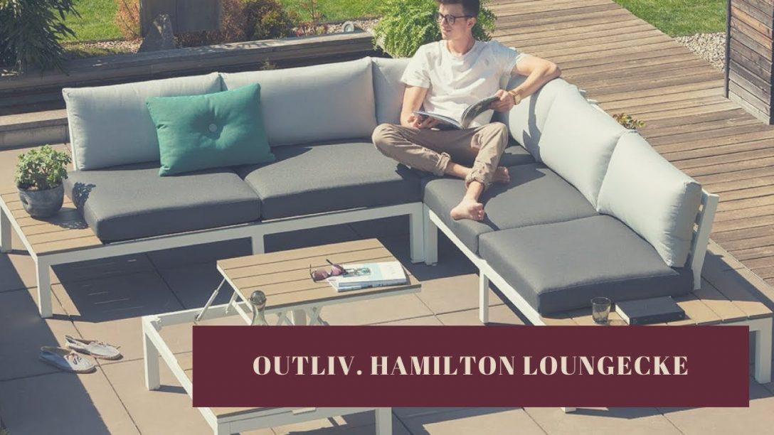 Large Size of Outliv Hamilton Loungeecke Garten Und Freizeitde Youtube Trennwand Fußballtore Lounge Sofa überdachung Schallschutz Paravent Ausziehtisch Sessel Spielanlage Wohnzimmer Loungeecke Garten