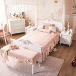Kinderbett Mädchen Wohnzimmer Kinderbett Mdchen Wei Romantic Kinderzimmer Mädchen Betten Bett