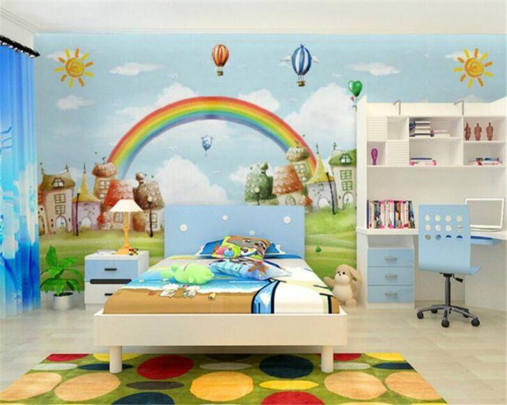 Medium Size of Wandbild Beibehang Custom Tapete Mediterranen Stil Cartoon Tv Hintergrund Sofa Regal Schlafzimmer Wohnzimmer Regale Weiß Kinderzimmer Wandbild Kinderzimmer
