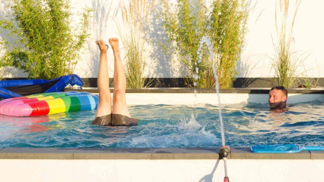Large Size of Whirlpool Garten Aufblasbar Bett Selber Bauen 180x200 Swimmingpool Fenster Einbauen Kosten Regale Bodengleiche Dusche Nachträglich Einbauküche Pool Guenstig Wohnzimmer Pool Selber Bauen