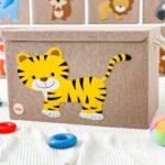 Aufbewahrungsboxen Kinderzimmer Willos Aufbewahrungsbospielzeugbomit Tiger Regal Weiß Regale Sofa Kinderzimmer Aufbewahrungsboxen Kinderzimmer