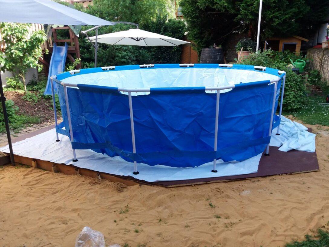 Large Size of Pool Selber Bauen Ist Cool Bauanleitung Zum Selberbauen 1 2 Docom Deine Fenster Einbauen Dusche Einbauküche Schwimmingpool Für Den Garten Bodengleiche Wohnzimmer Pool Selber Bauen