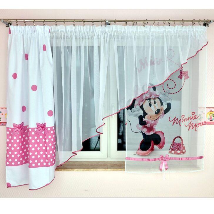 Medium Size of Kindergardine Minnie Mouse Gardine Fr Mdchen Einrichtung Vorhang Wohnzimmer Regal Kinderzimmer Bad Küche Regale Weiß Sofa Kinderzimmer Kinderzimmer Vorhang