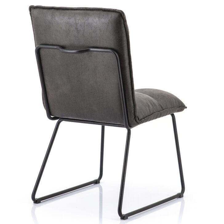 Medium Size of Esszimmerstuhl Ruby Anthrazit Kunstleder Kufen Stuhl Esstischstuhl Esstischstühle Esstische Esstischstühle
