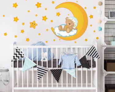 Sternenhimmel Kinderzimmer Kinderzimmer Sternenhimmel Kinderzimmer Wandtattoo Teddys Regal Regale Weiß Sofa