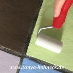 Bodenfliesen Streichen Wohnzimmer Fliesen Streichen Autentico Chalk Paint Kreidefarbe Und Bodenfliesen Bad Küche