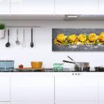 Küche Deko Levandeo Glasbild 30x80cm Wandbild Glas Pasta Nudeln Kche Hängeschrank Glastüren Single Wandverkleidung Rolladenschrank Betonoptik Holzregal Wohnzimmer Küche Deko