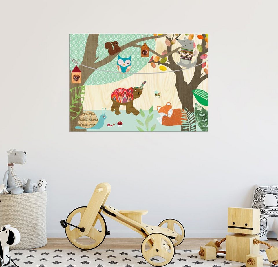 Full Size of Wandbild Kinderzimmer Posterlounge Greennest Br Wandbilder Wohnzimmer Schlafzimmer Regale Regal Weiß Sofa Kinderzimmer Wandbild Kinderzimmer