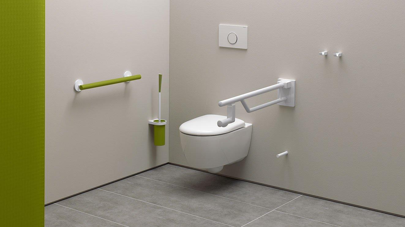 Full Size of Barrierefreie Dusche Umbau Eines Sanitrraums Zum Rollstuhlgerechten Bad Und Bodengleiche Nachträglich Einbauen Wand Mischbatterie Begehbare Fliesen Für Dusche Barrierefreie Dusche