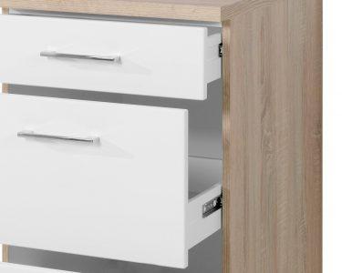 Küchenunterschrank Wohnzimmer Küchenunterschrank Kchen Unterschrank Lissabon 3 Schubladen 50 Cm Breit