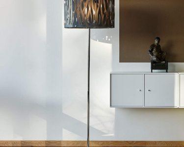 Stehlampen Modern Wohnzimmer Stehlampen Modern Stehlampe Brauner Schirm Rattan Stehleuchte Retro Bett Design Küche Holz Moderne Duschen Tapete Bilder Fürs Wohnzimmer Deckenleuchte