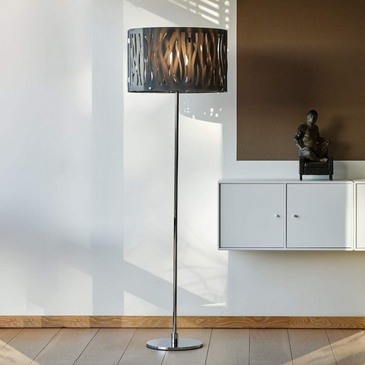Medium Size of Stehlampen Modern Stehlampe Brauner Schirm Rattan Stehleuchte Retro Bett Design Küche Holz Moderne Duschen Tapete Bilder Fürs Wohnzimmer Deckenleuchte Wohnzimmer Stehlampen Modern