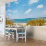 Abwaschbare Tapete Wall Art Strandtapete Selbstklebende Fototapeten Wohnzimmer Fototapete Tapeten Schlafzimmer Ideen Küche Modern Fenster Für Die Wohnzimmer Abwaschbare Tapete