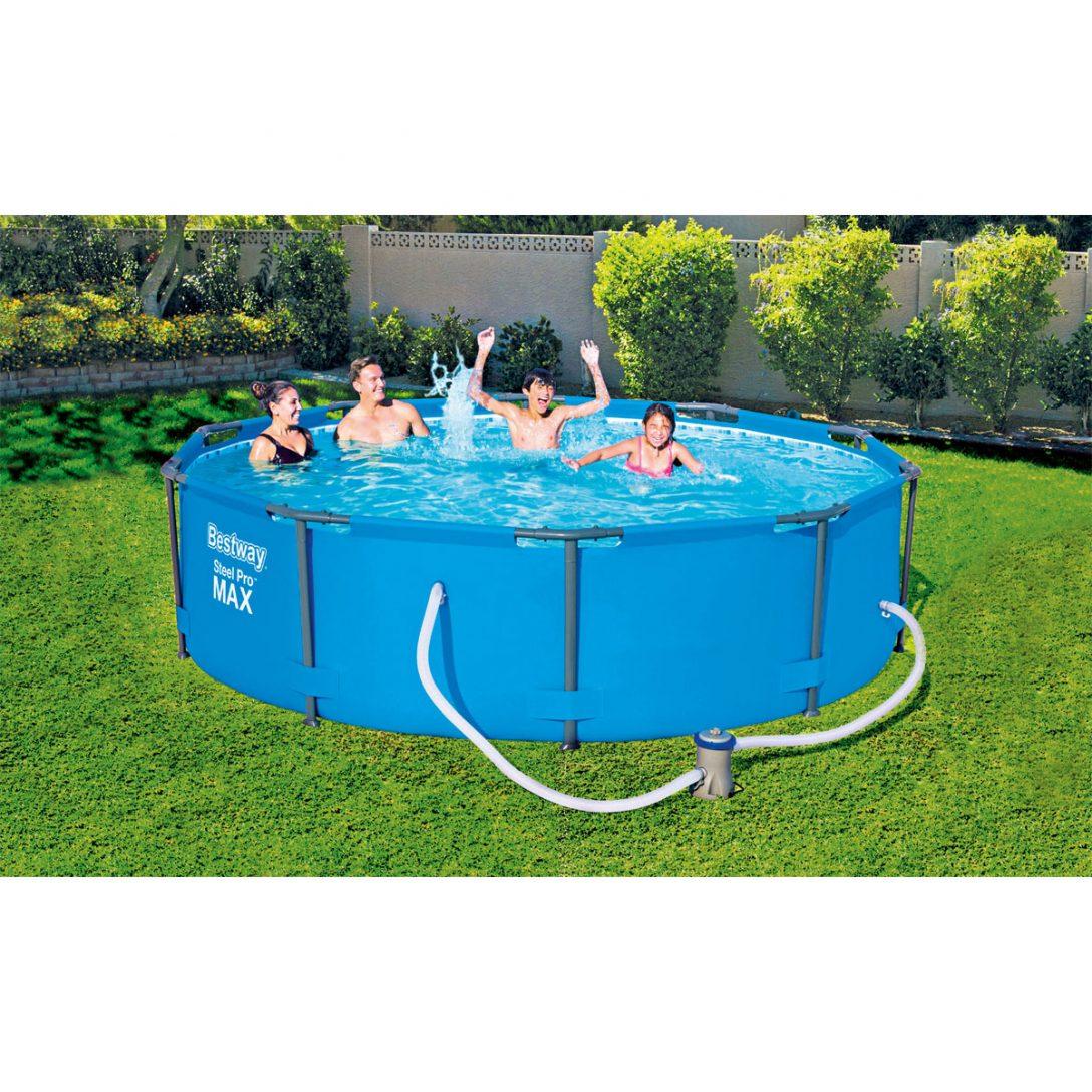Large Size of Bestway Pool Set Steel Pro Ma305x76 Cm Blau Kaufen Bei Hellwegat Fenster Günstig Alte Regale Outdoor Küche Sofa Online Bett Verkaufen Velux Billig Ikea Big Wohnzimmer Pool Kaufen