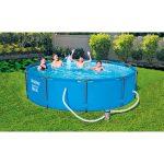 Thumbnail Size of Bestway Pool Set Steel Pro Ma305x76 Cm Blau Kaufen Bei Hellwegat Fenster Günstig Alte Regale Outdoor Küche Sofa Online Bett Verkaufen Velux Billig Ikea Big Wohnzimmer Pool Kaufen