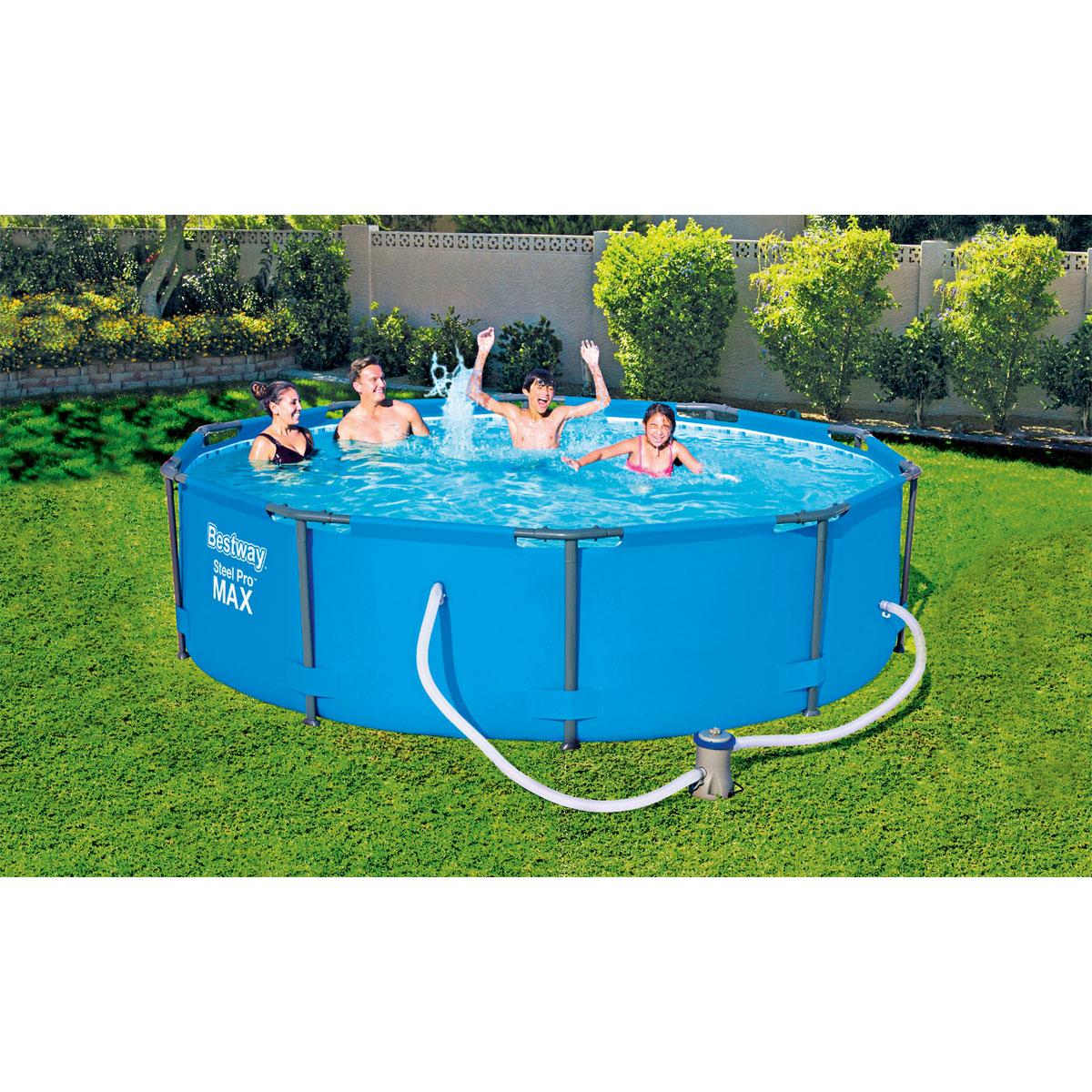 Full Size of Bestway Pool Set Steel Pro Ma305x76 Cm Blau Kaufen Bei Hellwegat Fenster Günstig Alte Regale Outdoor Küche Sofa Online Bett Verkaufen Velux Billig Ikea Big Wohnzimmer Pool Kaufen
