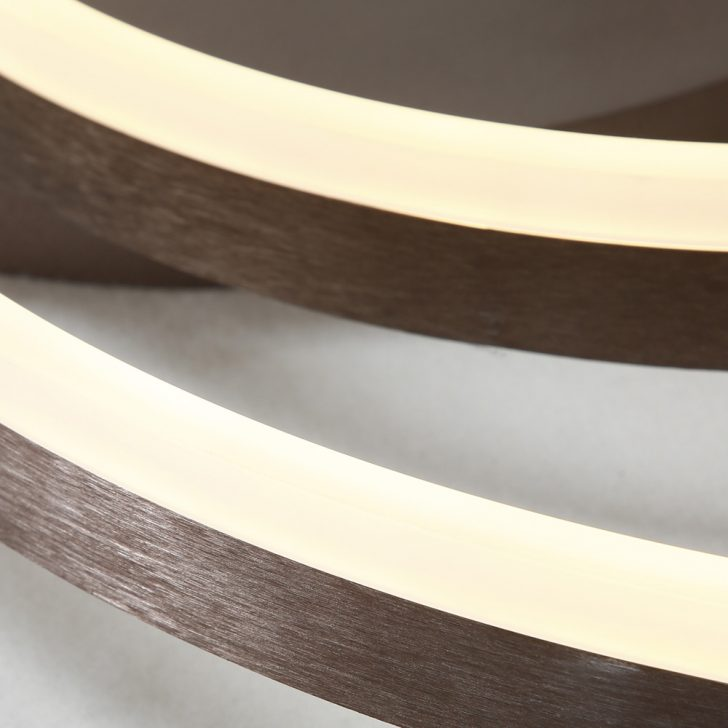 Medium Size of Led Deckenleuchte Modern Zwei Ringe Aus Acryl Tapete Küche Weiss Moderne Bilder Fürs Wohnzimmer Deckenlampen Deckenleuchten Bett Design Holz Duschen Wohnzimmer Deckenleuchten Modern