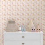 Kinderzimmer Wanddeko Rosa Abenteuer Tapete Wildwest Tiere Regal Weiß Küche Regale Sofa Kinderzimmer Kinderzimmer Wanddeko