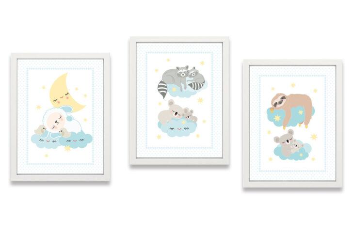Medium Size of Bild Kinderzimmer Poster Gute Nacht Schlaf Schn Miyo Mori Regal Weiß Moderne Bilder Fürs Wohnzimmer Wandbild Wandbilder Modern Großes Xxl Regale Glasbilder Kinderzimmer Bild Kinderzimmer